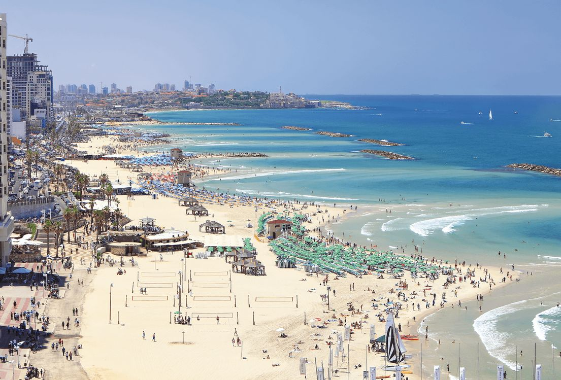 Фото отдыха в Израиле на море 1
