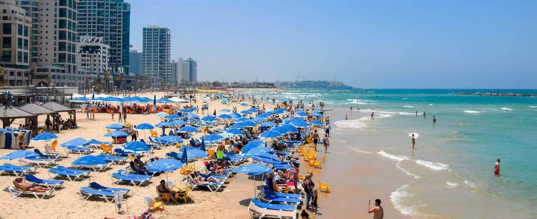 Фото отдыха в Тель-Авиве Израиль 1